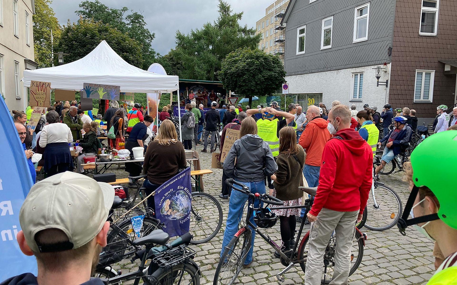 """Demo und Kundgebung """"Mobilitätswende Jetzt"""" am 28. August in Detmold"""